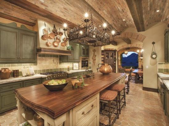 Appetite for Cooking Spaces / wow. look at the ceiling...and all!