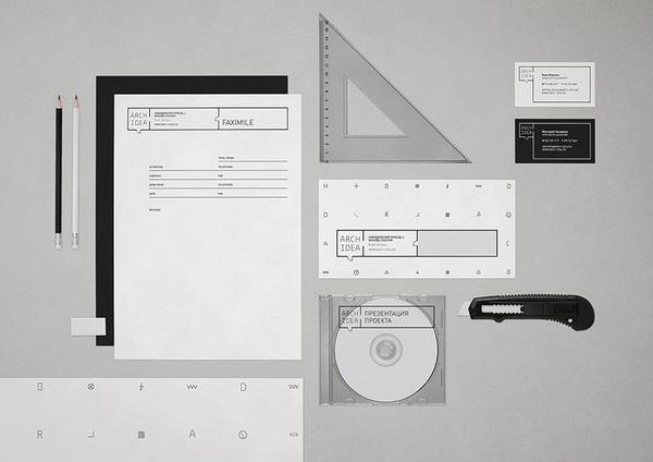 Arch Idea identity & website on