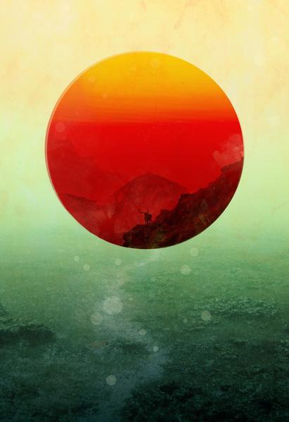 Art / In the end, the sun rises Art Print — Designspiration