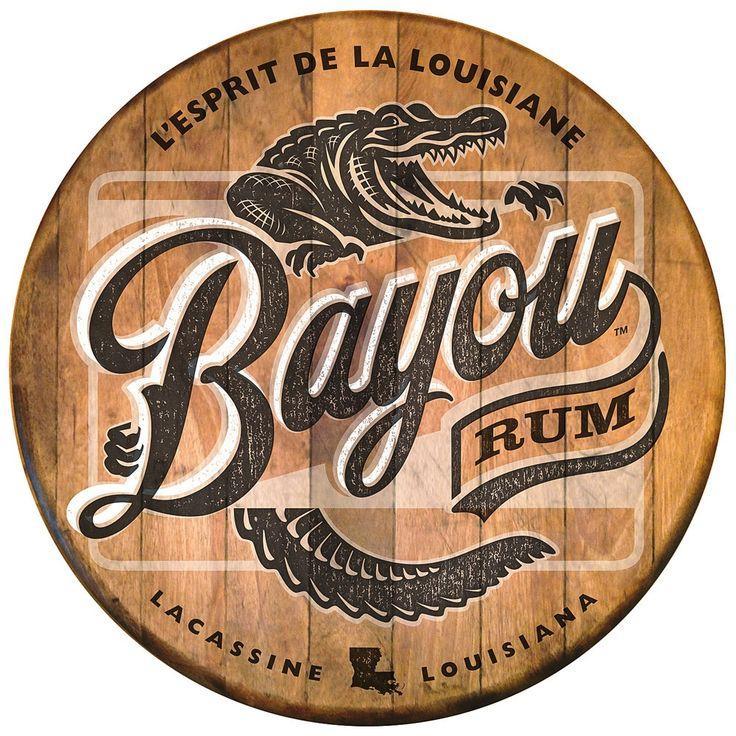 bayou rum | Typography