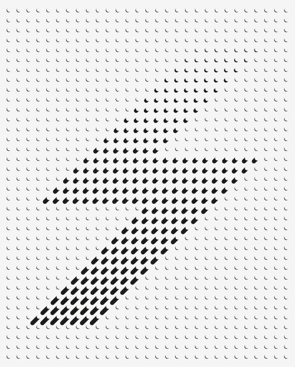 Beautiful Bitmaps — Typographic Print on