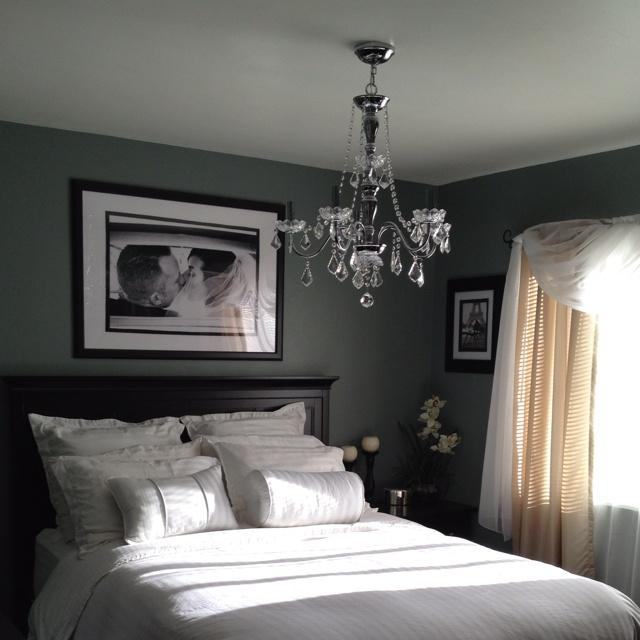 bedroom matte grey walls great black and white in the bedro