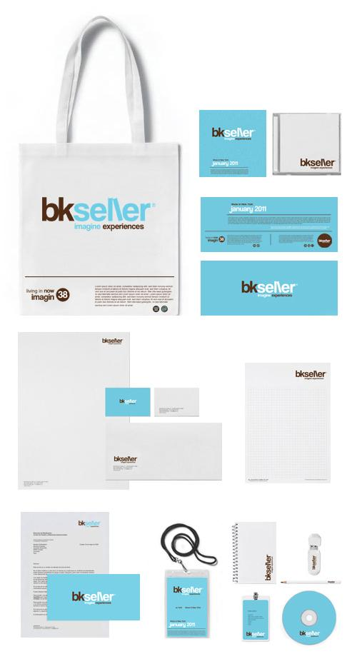 bkseller · Brand design · Identity · Shop Concept on