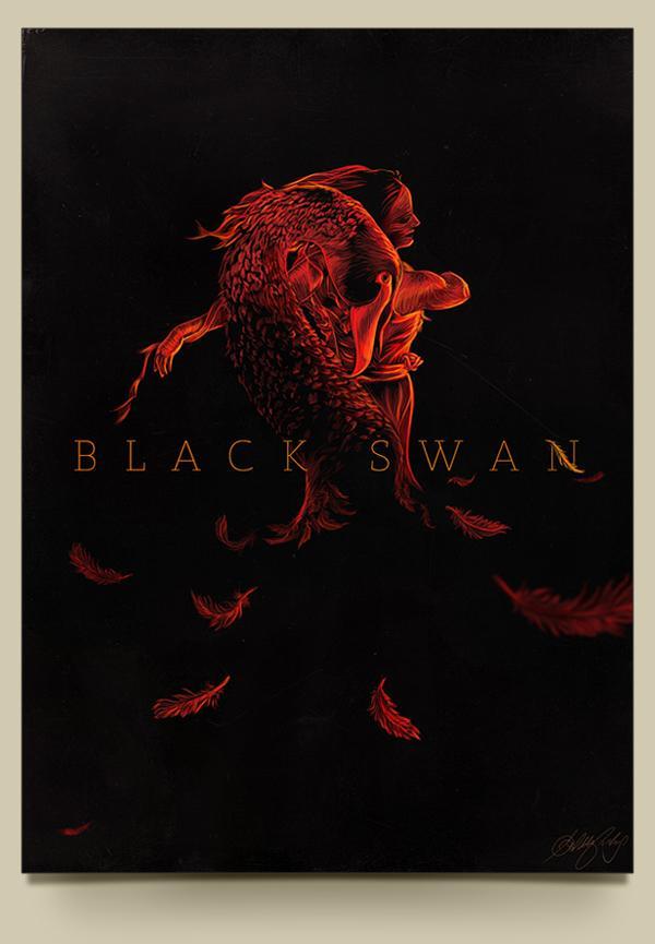 Black Swan - Poster Movie on