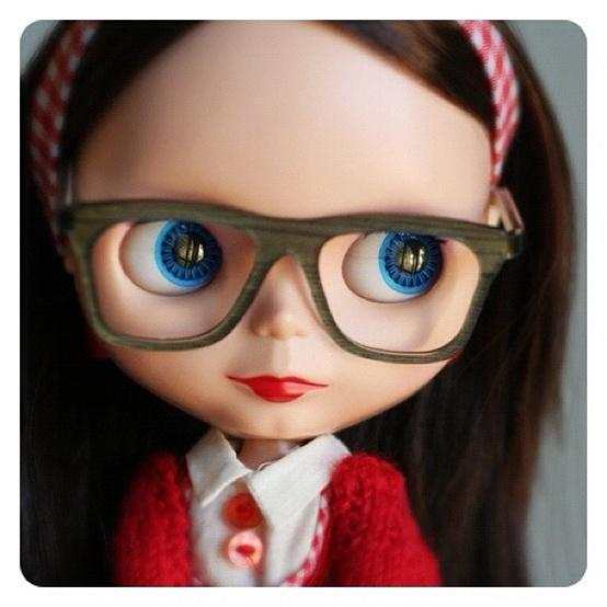 Blythe / cute glasses