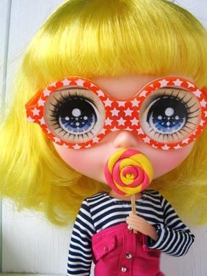 Blythe / Funny Glasses Blythe by doric1979