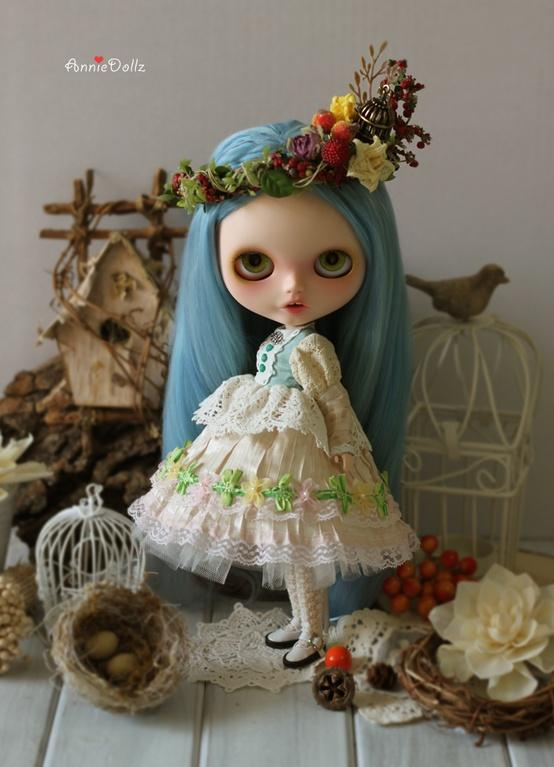 Blythe / NO.18 ?BlueBird? by Anniedollz