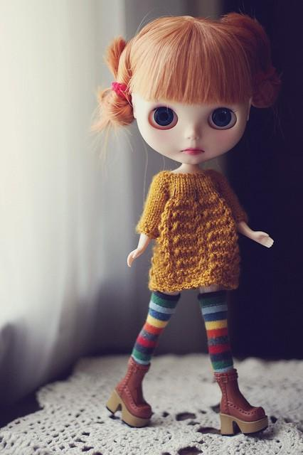 Blythe / Rainbow Socks - 143/365 ADAD 2011 | Flickr - Photo Sharing!