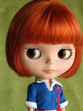 Blythe / Redhead with freckles