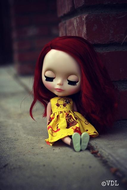 Blythe / redhead