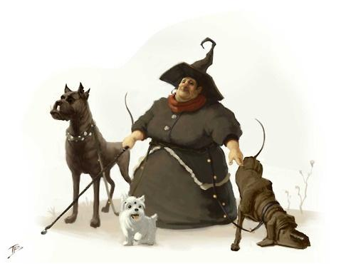 Brouchas / Brujas / Breixes / Sorginak / bruja