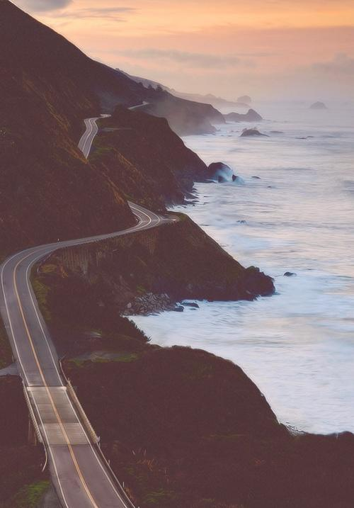 California. / Coastal Highway / Monterey, California
