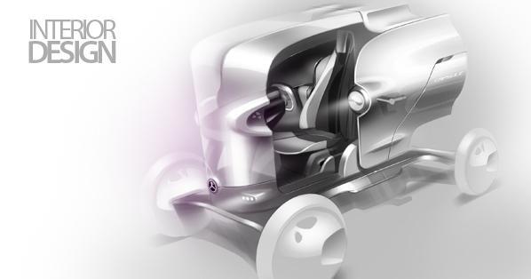 CAPSULE | Urban Vehicle Design | Jason Chen on