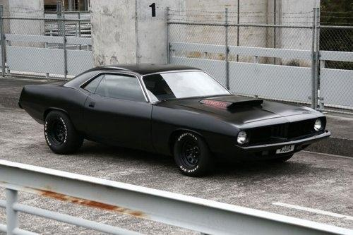 Cars / Plymouth Barracuda - The Black Workshop — Designspiration