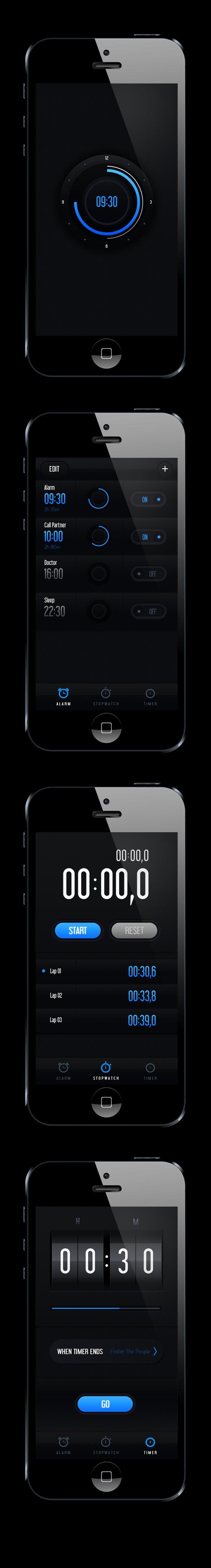 Clock Concept on