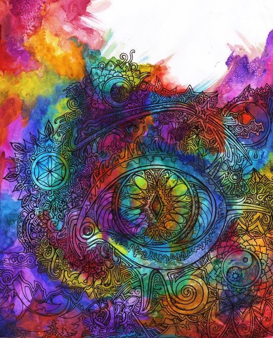 Colourful Life / Dreamland Matrix by lauraborealisis