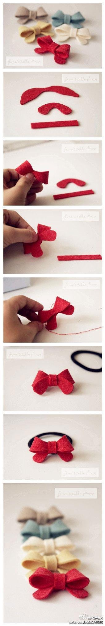 Crafty ideas / bows
