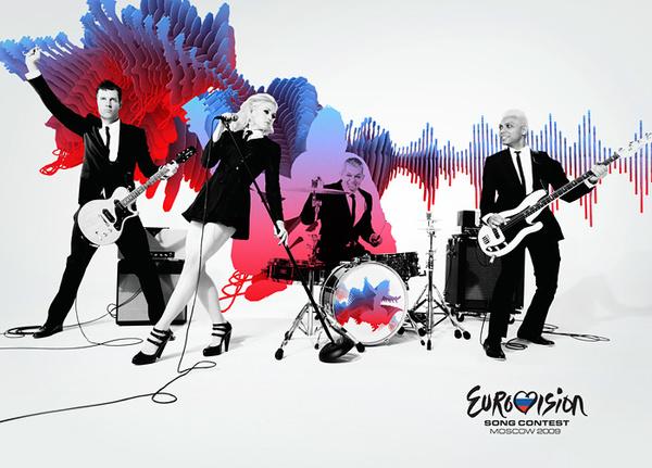 Eurovision `09 concept sur le réseau