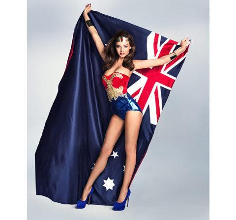 Miranda Kerr: Australia's new Wonder Woman - Shoes with news
