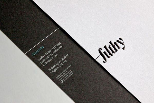 filthymedia - Corporate Identity & Stationery on