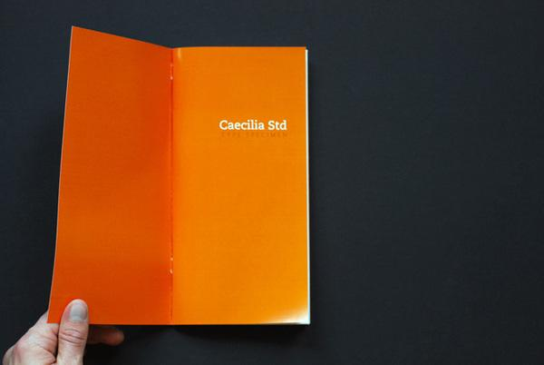 Flirty Sophistication — Caecilia Type Specimen Book on