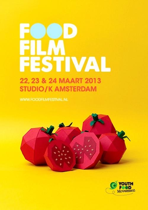 Food Film Festival 2013 Amsterdam — Designspiration