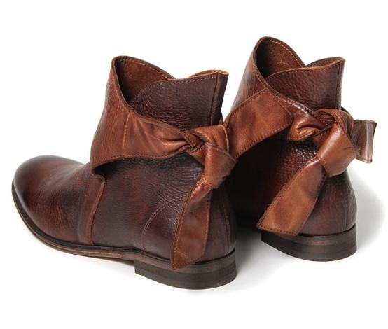 for fall/winter / Etty Brown Ankle Boot | H by Hudson