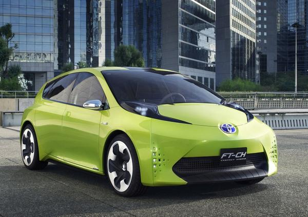 FT-CH concept car. on