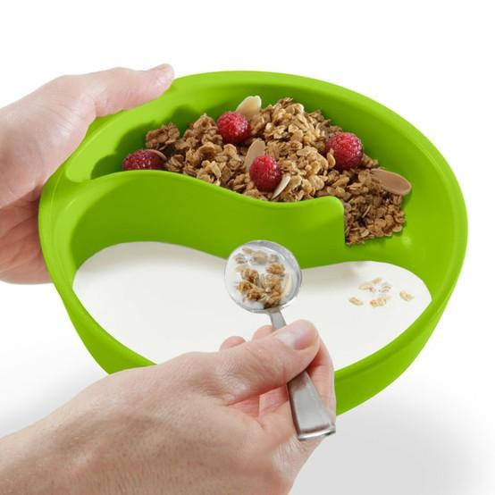 Good to know / Never-Soggy Cereal Bowl. Win.