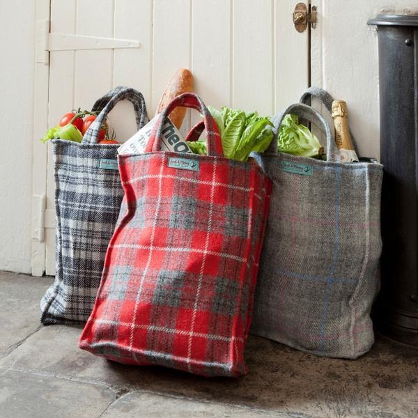 Harris Tweed Shopping Bags jock and morag | SEASON: AUTUMN