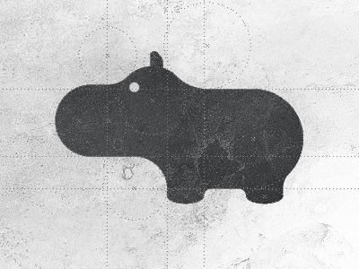 Hippo logo design by Gert van Duinen — Designspiration