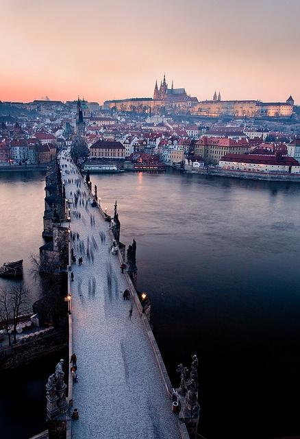 i haven't been everywhere, but it's on my list. / Prague