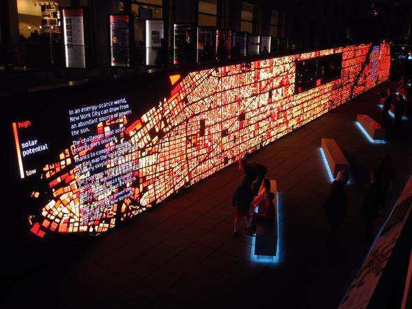 IBM Think Exhibit - Data Wall