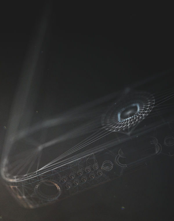 iPhone 5 Abstract - 3DMOTIONFX on