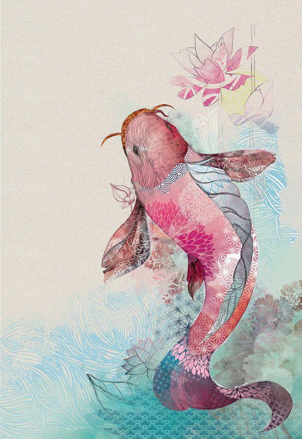 just-art: illustrations by Amália Lage (brasil) ... - Yukon ... | F...