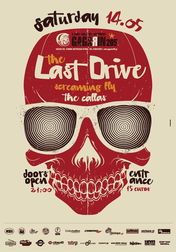 Last drive silkscreen poster on 168104 on wookmark for Best store to buy posters