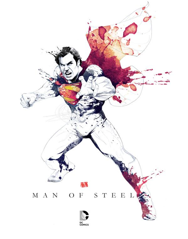 MAN OF STEEL by David Despau on
