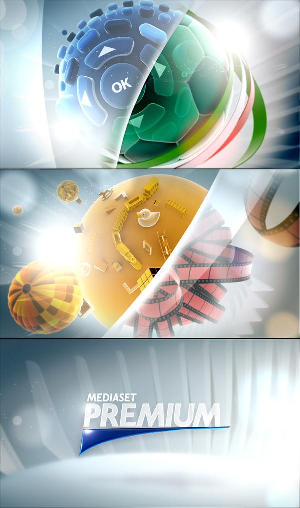 Mediaset Premium Rebranding