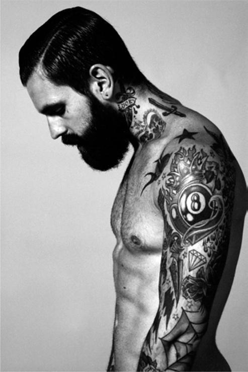 Man Sleeve Tattoos