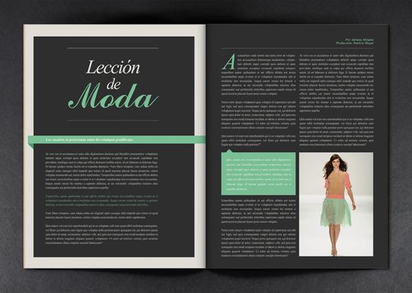 MIA Magazine / Rebranding Proposition sur le réseau