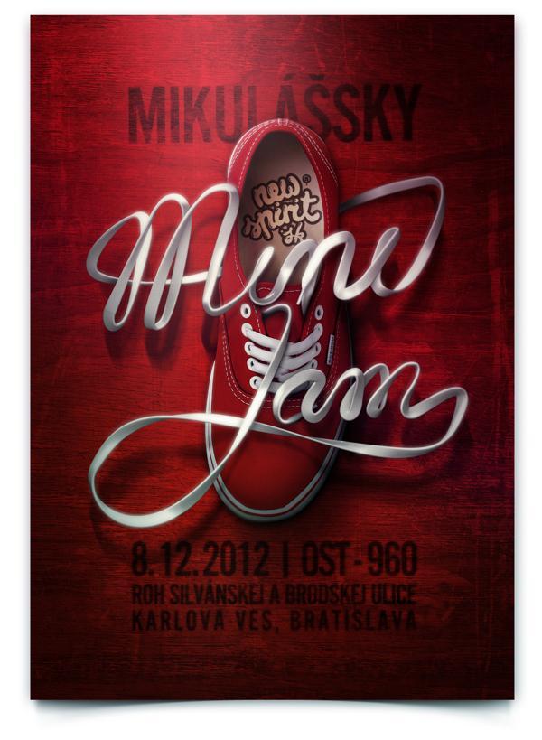 Mini Jam poster on