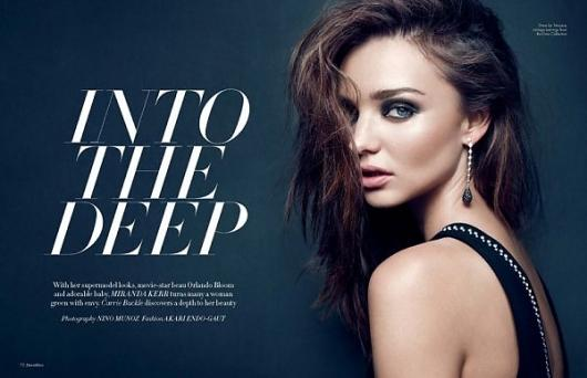 Miranda Kerr by Nino Muñoz » Creative Photography Blog — Designspiration