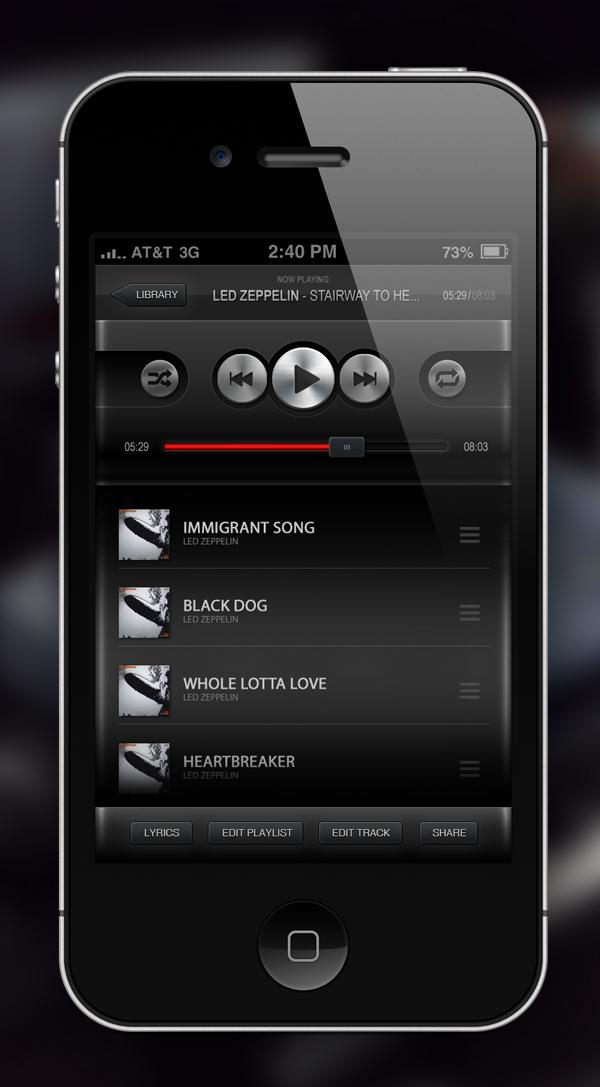 Music Player App on