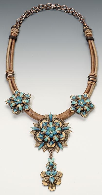 Necklace   Lynne Ann Schwarzenberg. 'Beautifully ...   Polymer Clay