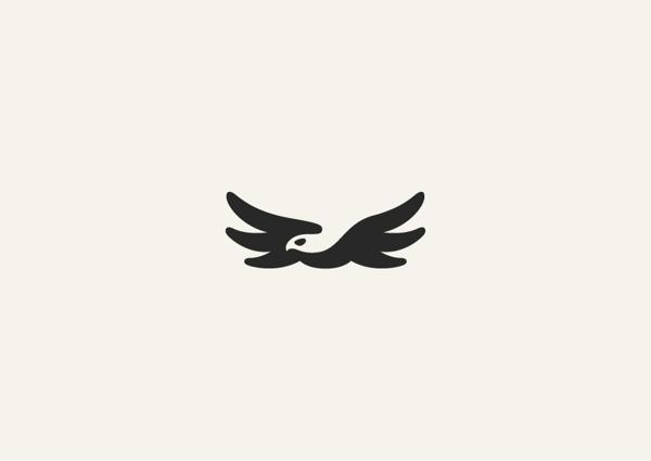 Negative space animal masterpieces on
