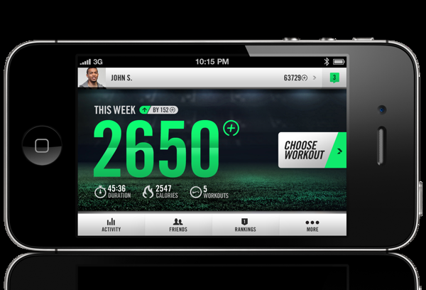 Nike+ Training on