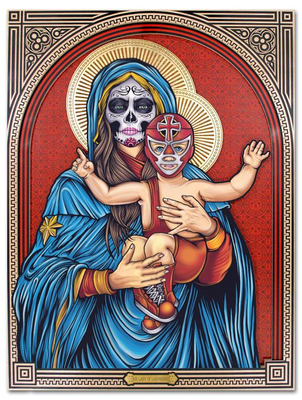 'Our Lady of Luchadores'