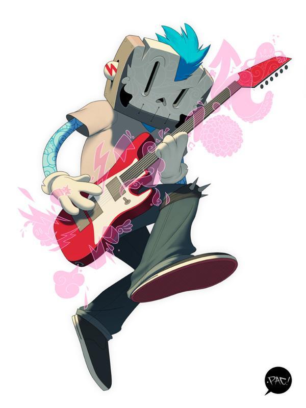 Punk Rocker on