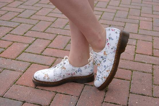 Shoes... / Floral Doc Martens