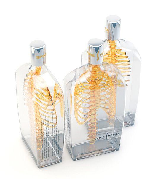 Spine Vodka: Awesome Concept by Johannes Schulz | PACKAGING